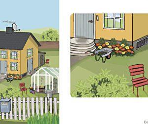 Illustration / Hus och trädgård | Paladinodesign
